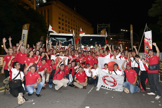HINO'S PROUD RECORD ON DAKAR RALLY