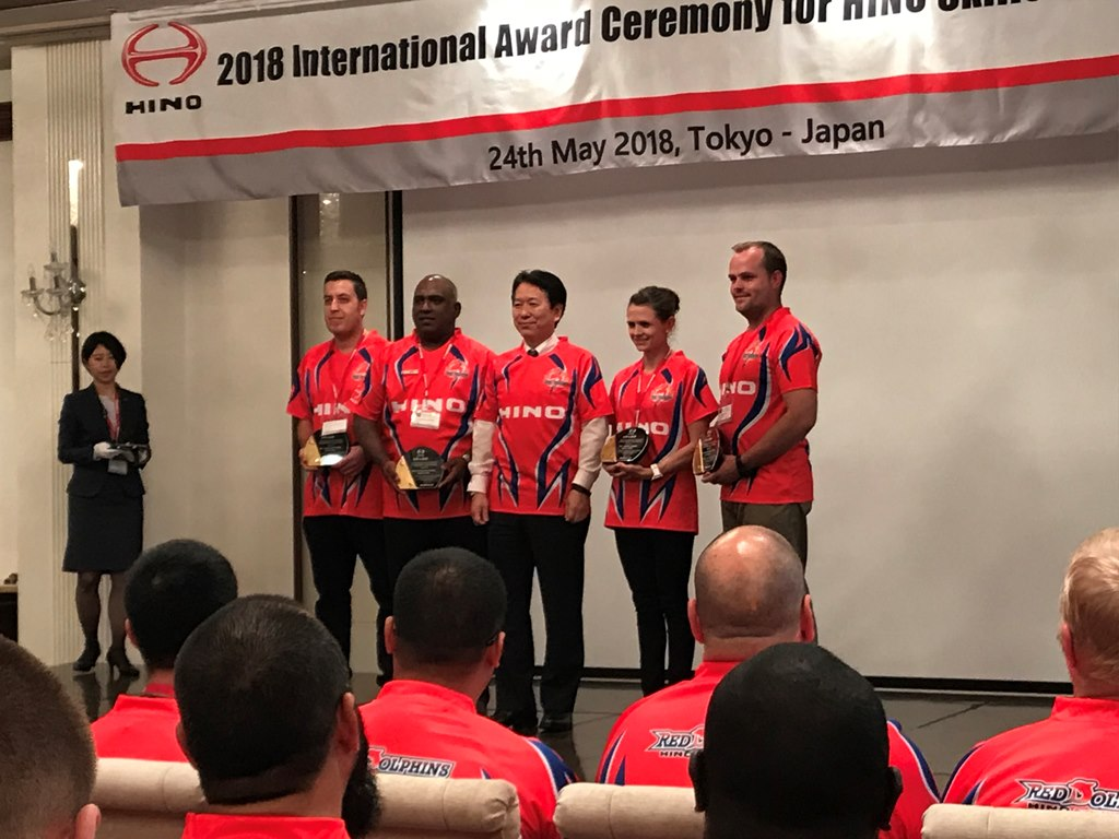 HINO REWARDS SA DEALER STAFF WITH EDUCATIONAL VISIT TO JAPAN