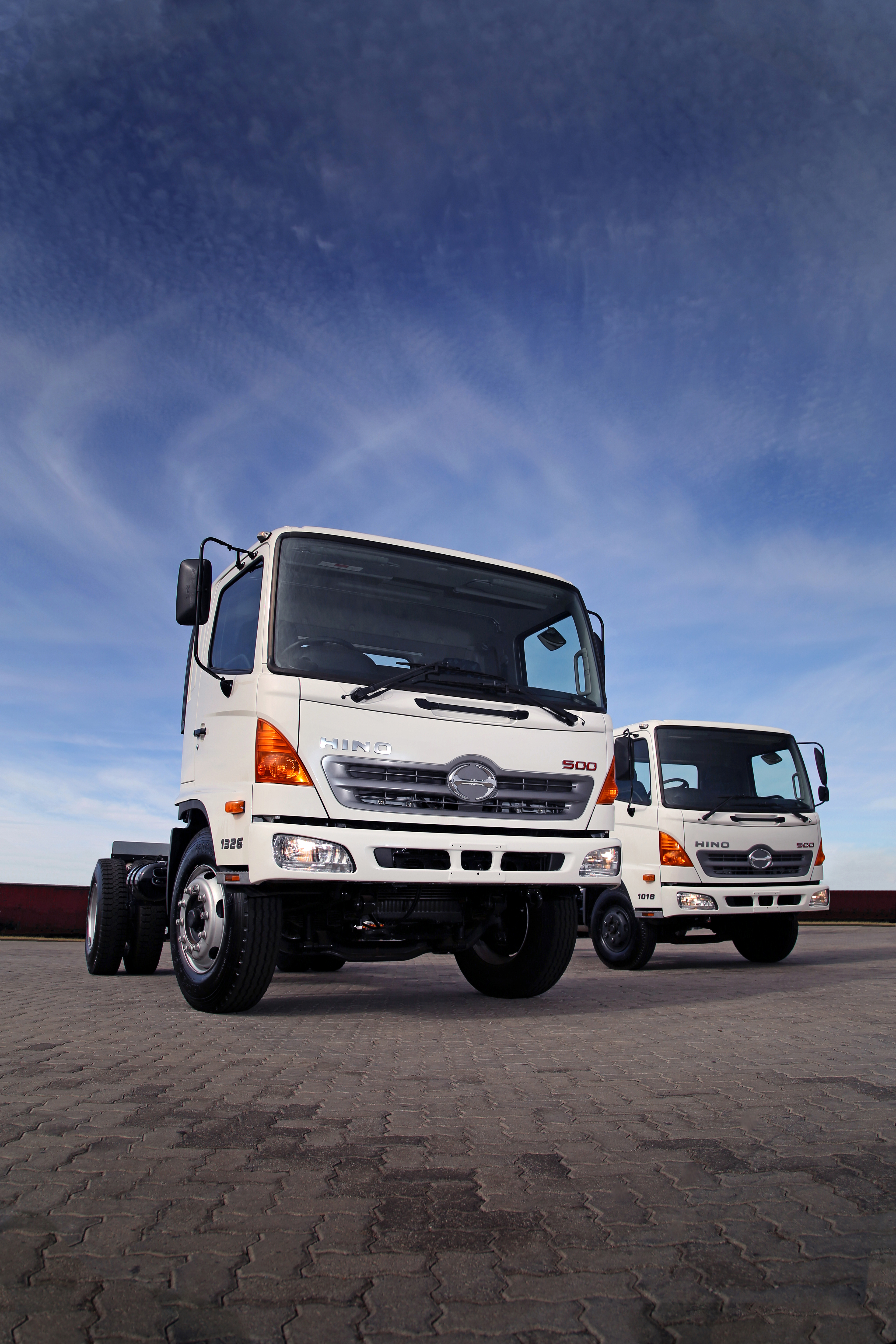 REVISIONS BEING MADE TO HINO 500-SERIES TRUCK RANGE