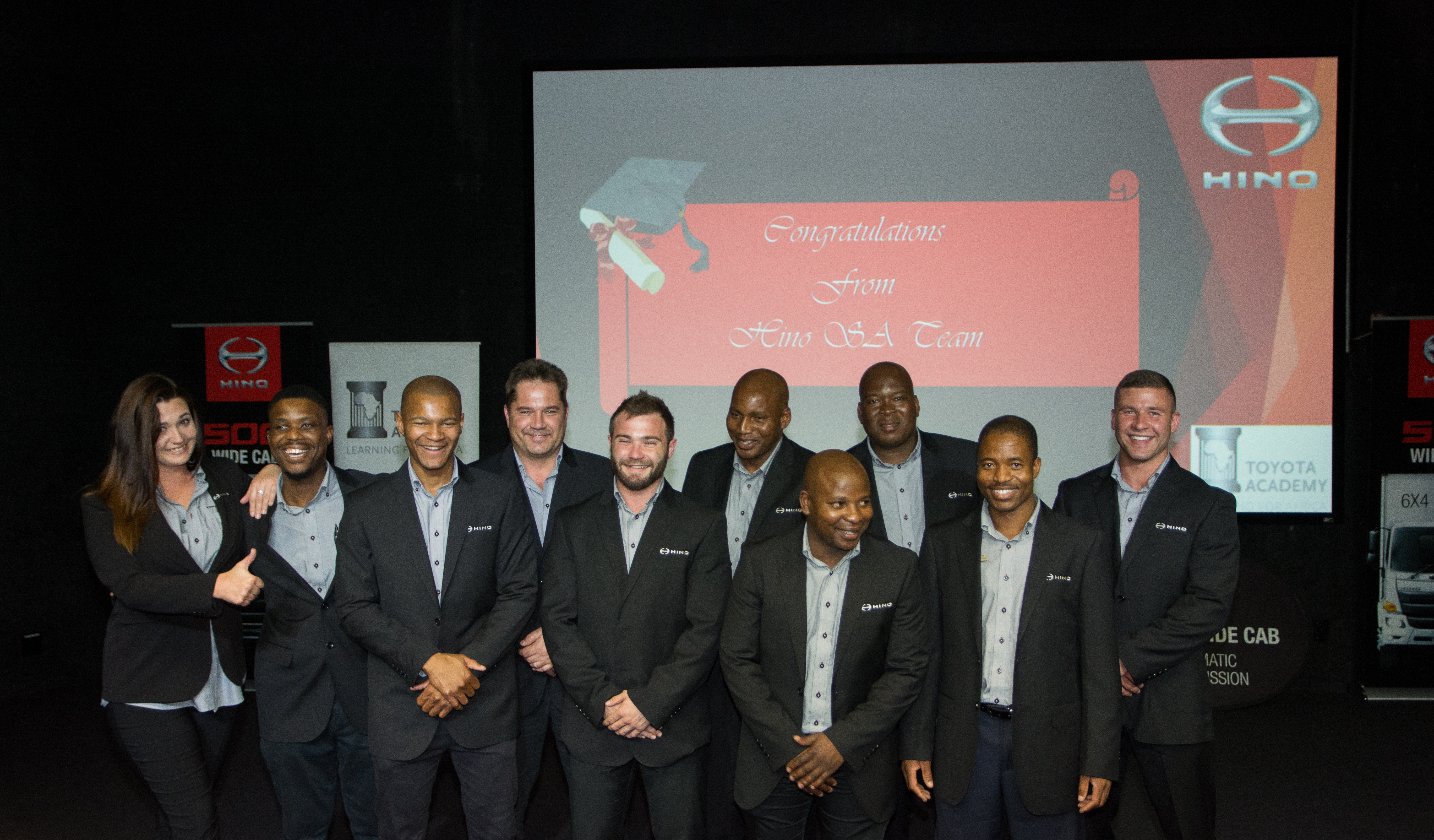 LATEST HINO LEARNERSHIP PROGRAMME PROVES VERY SUCCESSFUL