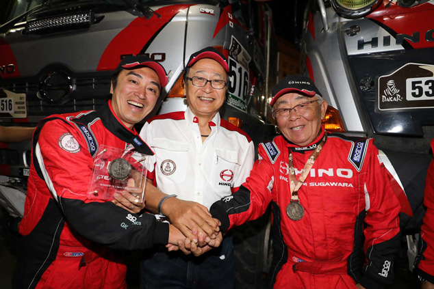 HINO NOTCHES UP 26TH CONSECUTIVE FINISH IN DAKAR RALLY