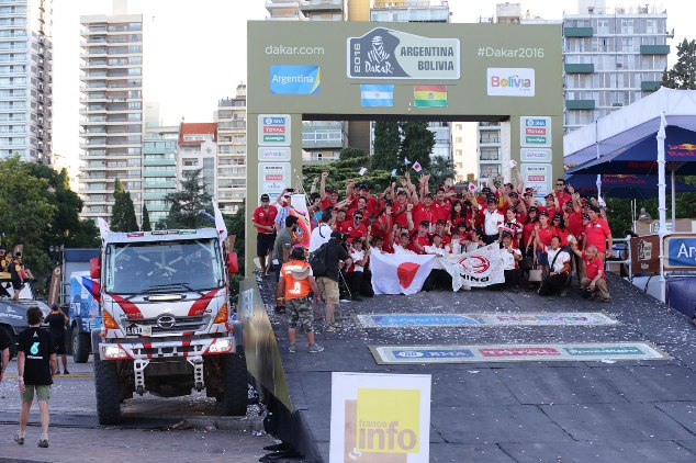 HINO FINISHES 25th CONSECUTIVE DAKAR RALLY AND WINS ITS CLASS AGAIN, FURTHER BUILDING ON AN AMAZING RELIABILITY RECORD