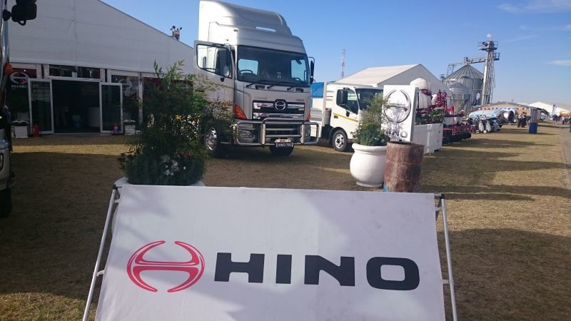 HINO TRUCKS GOT PLENTY OF ATTENTION AT NAMPO SHOW