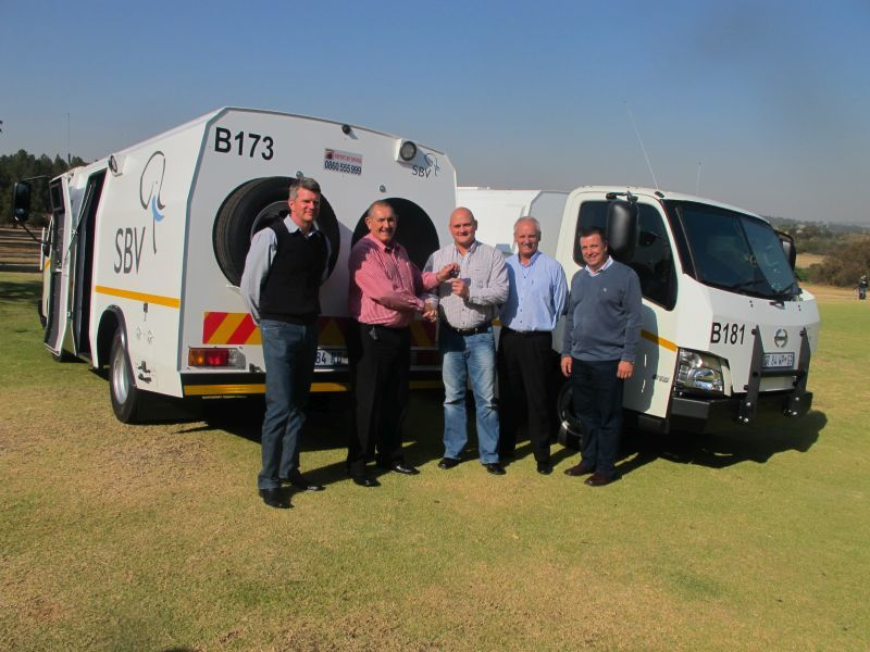 SBV CONTINUES TO RAISE THE BAR WITH ITS CASH-IN-TRANSIT FLEET