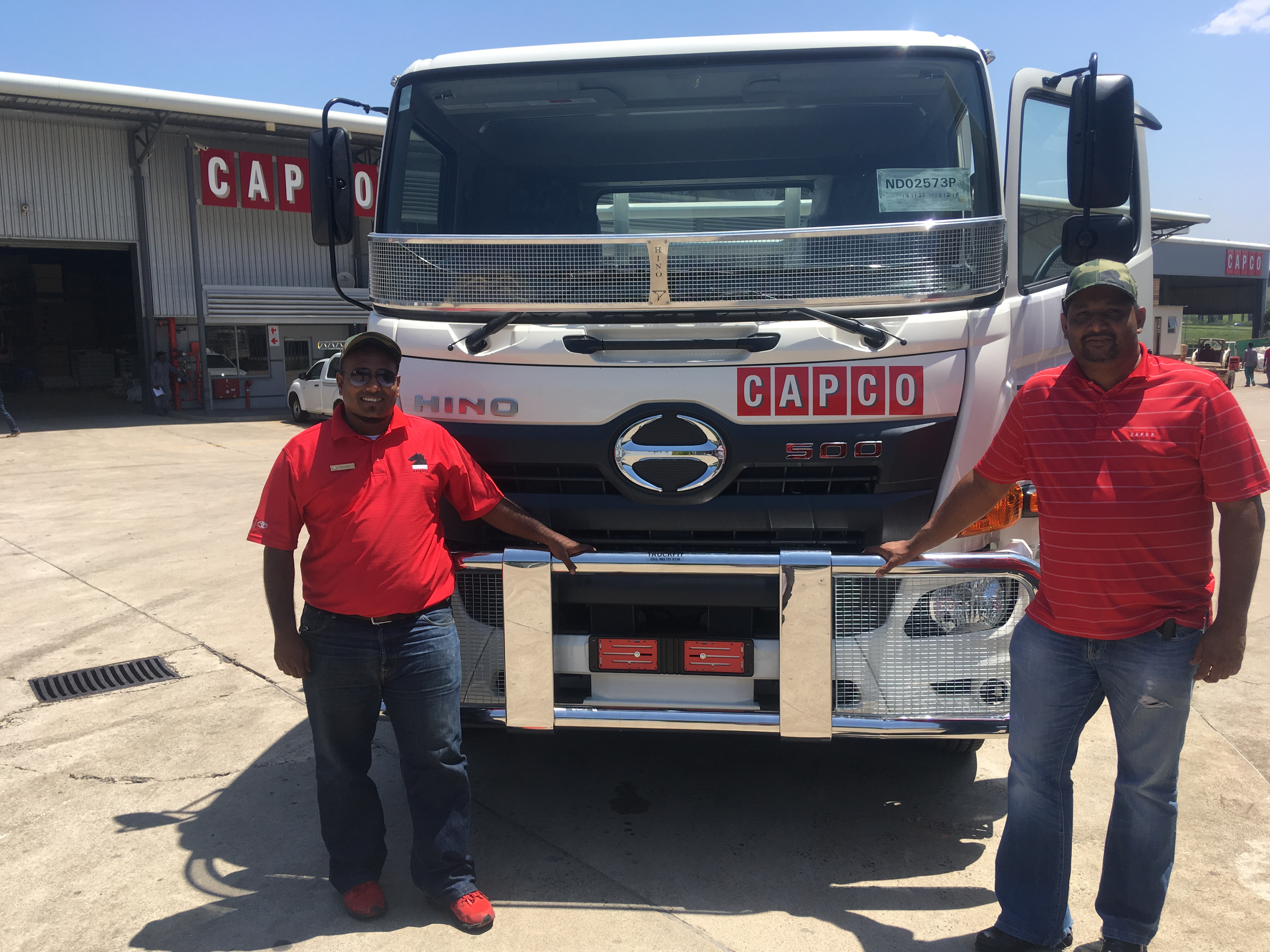 CAPCO CONTINUES LONG ASSOCIATION WITH HINO TRUCKS