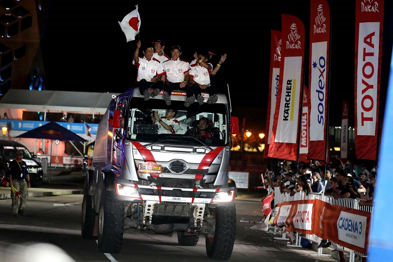 HINO NOTCHES UP ANOTHER FINISH AND CLASS WIN IN DAKAR RALLY